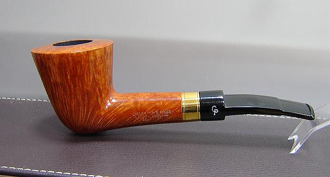 Charatan selected 18k gold band 1 for Golden fish pipe